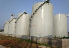 Aromatic hydrocarbons, finished product storage tank